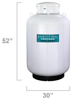 120 Gallon Worthington Propane Tank